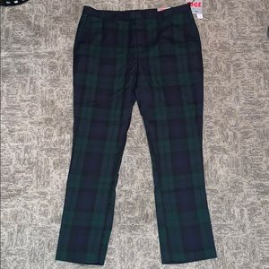 Men's Plaid Dress Pant
